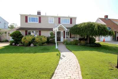 Wantagh Single Family Home For Sale: 22 Dahlia Ln