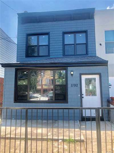 Brooklyn Rental For Rent: 1192 E 93rd St #2
