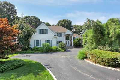 Dix Hills Single Family Home For Sale: 47 Hunting Hollow Ct