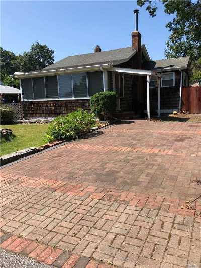 Mastic Beach Single Family Home For Sale: 5 Brush Pl