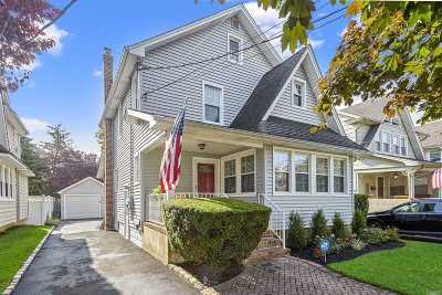 Rockville Centre Single Family Home For Sale: 147 Sherman Ave