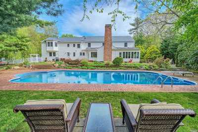 Smithtown Single Family Home For Sale: 3 Three Pond Rd