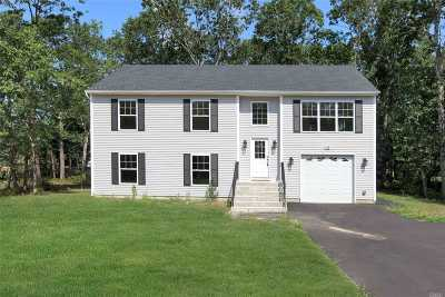 Ridge Single Family Home For Sale: 115 Middle Country Rd