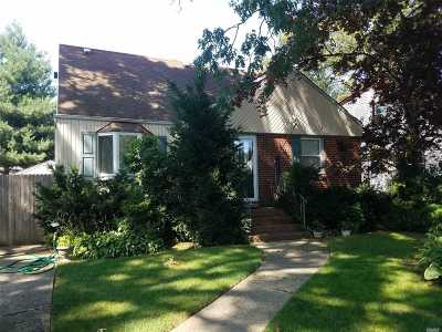 Wantagh Single Family Home For Sale: 3653 Franklin St