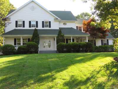 Shoreham Single Family Home For Sale: 10 Ridgefield Dr
