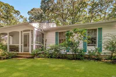 Cutchogue Single Family Home For Sale: 935 Southern Cross Rd
