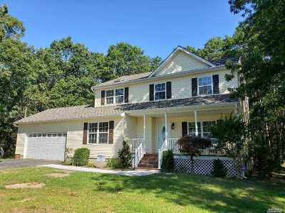 Coram Single Family Home For Sale: 41 Whiskey Rd