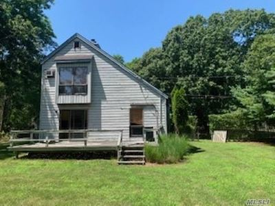 East Hampton Single Family Home For Sale: 50 Manor Ln