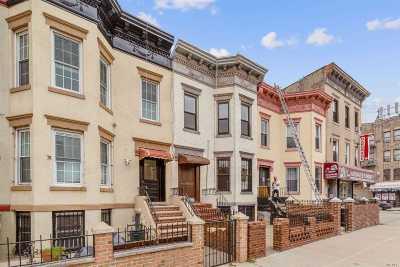 Brooklyn Multi Family Home For Sale: 1499 Saint Johns Pl