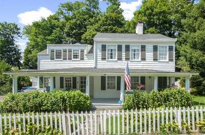 Port Jefferson Single Family Home For Sale: 119 Thompson St