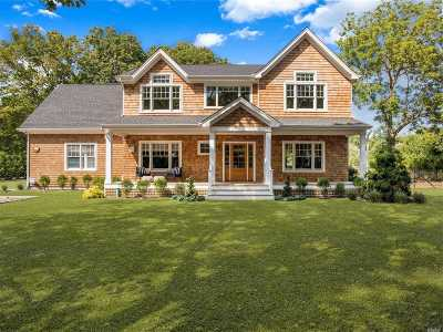 Westhampton Single Family Home For Sale: 112 Montauk Hwy