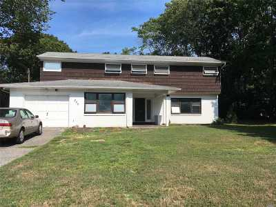 Patchogue Single Family Home For Sale: 345 N Ocean Ave