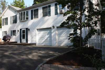 Sound Beach Single Family Home For Sale: 1 Manor Rd