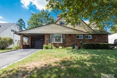 Hicksville Single Family Home For Sale: 30 Boulder Ln
