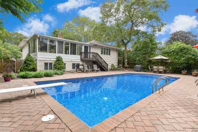 Smithtown Single Family Home For Sale: 27 Mulberry Dr