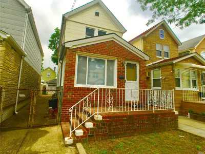 Ozone Park Single Family Home For Sale: 84-09 108th Ave
