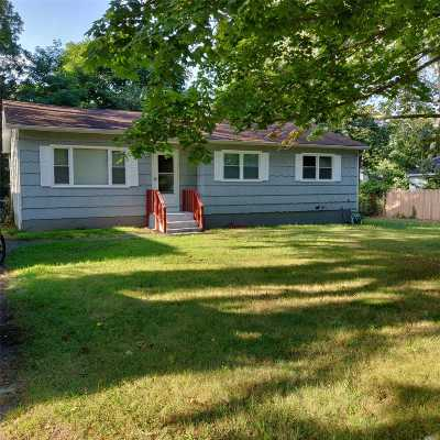 Mastic Single Family Home For Sale: 24 Wills Ave