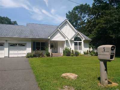 Middle Island Single Family Home For Sale: 5 Adams Ln