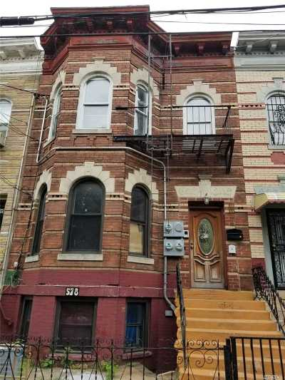Brooklyn Multi Family Home For Sale: 578 Cleveland St