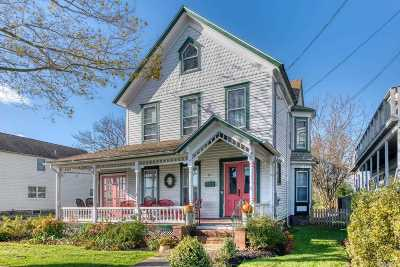 Greenport Single Family Home For Sale: 115 3rd St