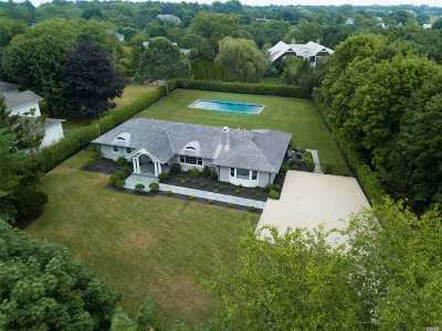 Water Mill Single Family Home For Sale: 392 Montauk Hwy