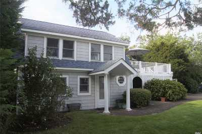 Hampton Bays Single Family Home For Sale: 16 Sagamore Rd