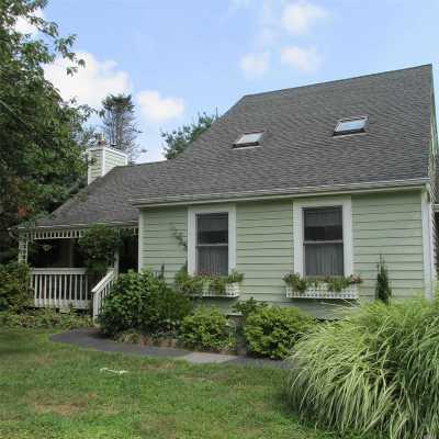 Jamesport Single Family Home For Sale: 74 Eileen Cir