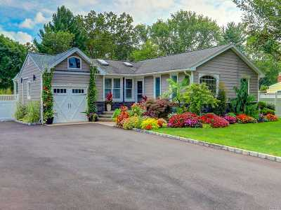 Nesconset Single Family Home For Sale: 4 Maple Glen Ln