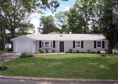 Hauppauge Single Family Home For Sale: 204 Nelson St