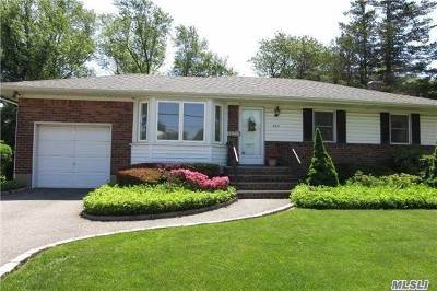 Syosset Single Family Home For Sale: 663 Woodbury Rd