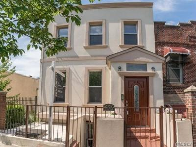 Brooklyn Multi Family Home For Sale: 446 Fountain Ave