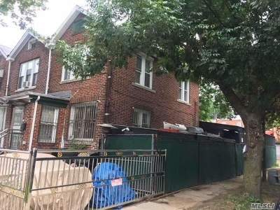 Queens Village, Briarwood, Bayside, Hillcrest, Jamaica Single Family Home For Sale: 11483 145th St