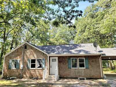 Shirley Single Family Home For Sale: 21 Revilo Ave