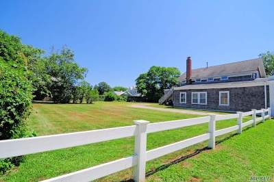Quogue Single Family Home For Sale: 164 Jessup Ave