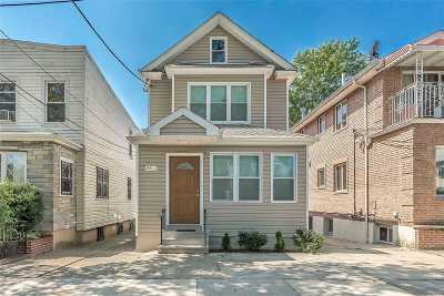 Kew Gardens Single Family Home For Sale: 84-36 127th St