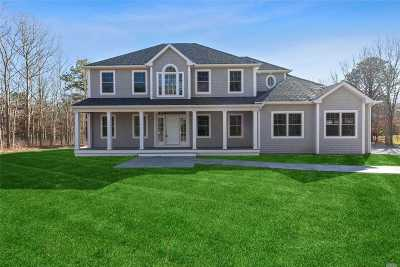 E. Quogue Single Family Home For Sale: 153 Maggie Tbb