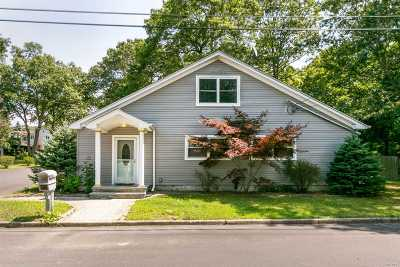 Patchogue Single Family Home For Sale: 6 Cedar St