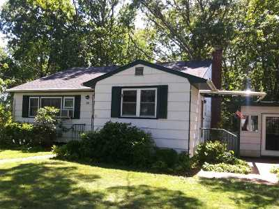 Sayville Single Family Home For Sale: 38 Mobile St