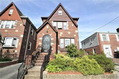 Flushing Single Family Home For Sale: 32-28 171st St