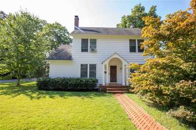 Smithtown Single Family Home For Sale: 40 Harvard Ave