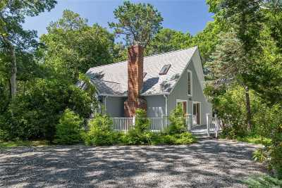 E. Quogue Single Family Home For Sale: 38 Squires Ave