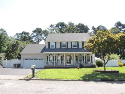 Coram Single Family Home For Sale: 7 Cabernet Ct