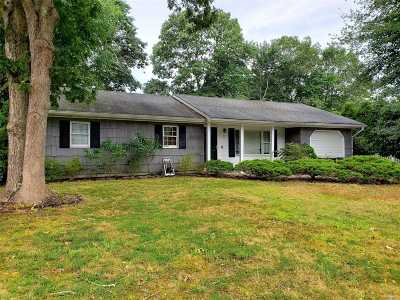 East Moriches Single Family Home For Sale: 12 Christmann Ave