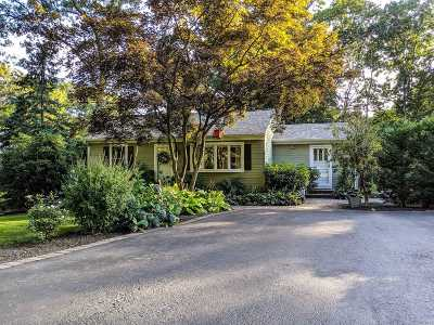 Miller Place Single Family Home For Sale: 2 Old Cow Path