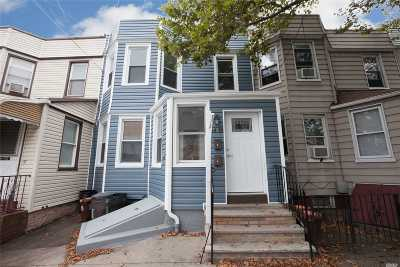 Middle Village Multi Family Home For Sale: 64-18 65th Ln