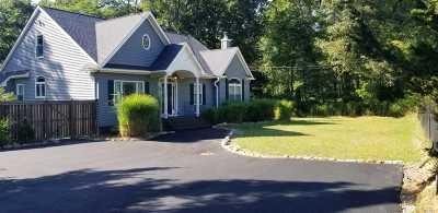 Manorville Single Family Home For Sale: 280 Weeks Ave