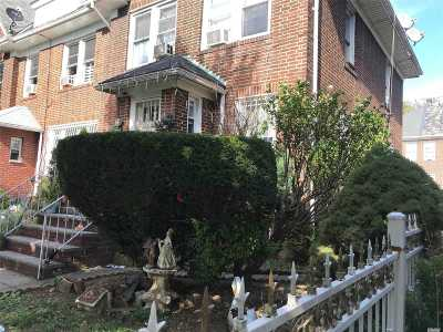 Jackson Heights Single Family Home For Sale: 33-33 88th St
