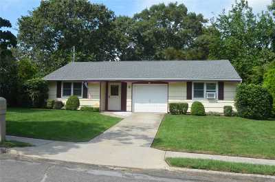 Selden Single Family Home For Sale: 8 Majestic Rd