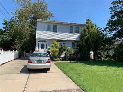 Copiague Single Family Home For Sale: 22 Colonial Rd
