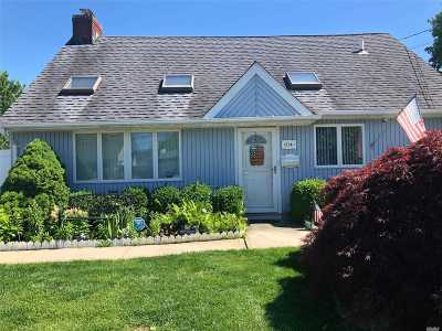 Copiague Single Family Home For Sale: 614 Kenmore Ave